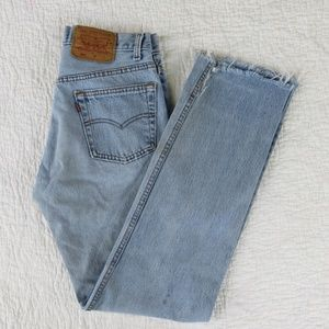 "Vintage Levi's 501s USA Made Men's 28"" Distressed"
